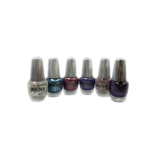 LA Colors - LA COLORS Brand New Nail Polish Unicorn Sparkle Set