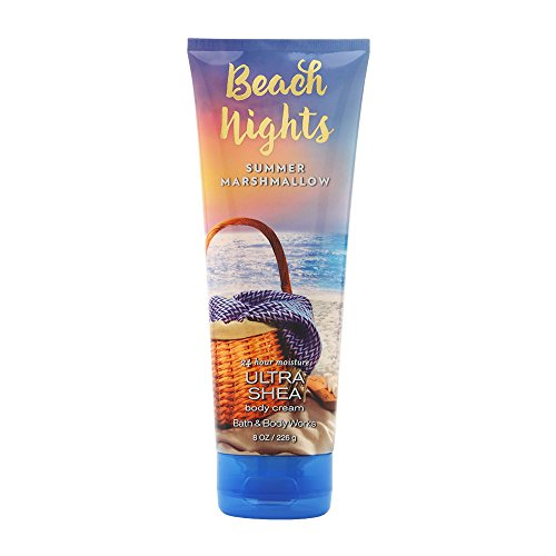 Bath & Body Works - Bath & Body Beach Nights Summer Marshmallow Body Cream