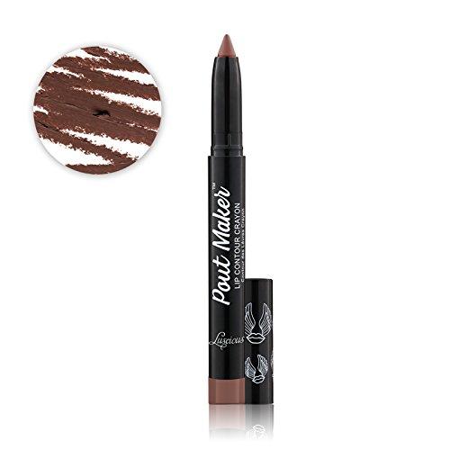 Luscious Cosmetics - Pout Maker Contouring Lip Crayon, Audacious