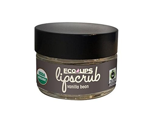 Eco Lips - Ecolips - Lip Scrub,Og2,Van Bean, 6 x 0.5 OZ by Eco Lips