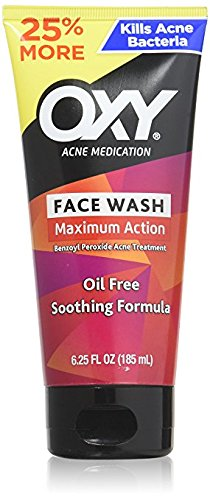 Oxy - OXY Acne Medication Maximum Action Advanced Face Wash, Advanced Face Wash 5 oz (Pack of 2)