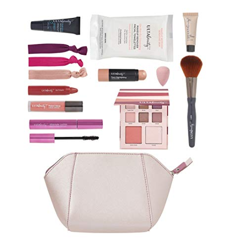 Ulta Beauty - Ulta Beauty 12 Pc Make Up Gift Set. Silver Bag.
