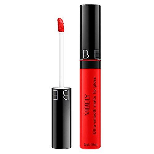 Mimfor - Mimfor Women Fashion Matte Soft Moisturizing Long Lasting Lip Glaze(J,)