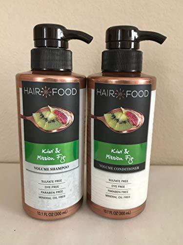 Hair Food - Hair Food Kiwi & Mission Fig Volume Shampoo and Volume Conditioner Set