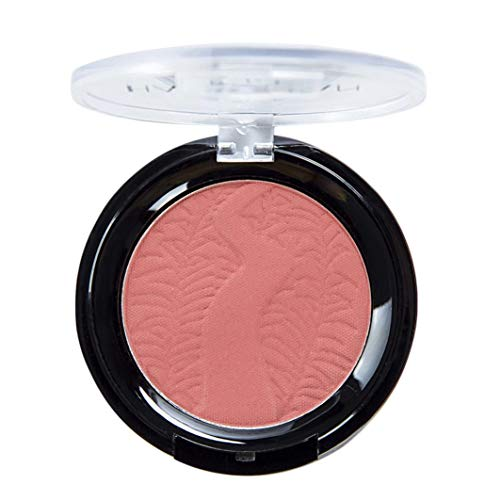 Leewa - 6 Color Blush Palette,Natural Mineral Powder Blend,for Radiant Glow Blush,Pink Long Lasting Magic Finish Formula for Face Cheek Glow (E)