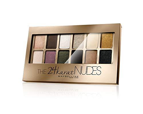 Maybelline - Paleta de sombras de ojos 24 Karat Nudes