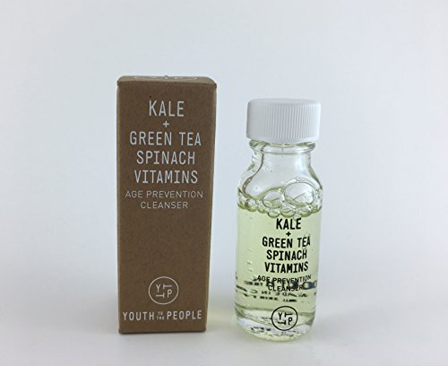 Youth to the People - YOUTH TO THE PEOPLE Kale + Green Tea Spinach Age Prevention Cleanser, 0.5 oz Mini