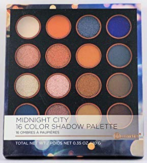 BH Cosmetics - BH Cosmetics 16 Color Eyeshadow Palette, Midnight City