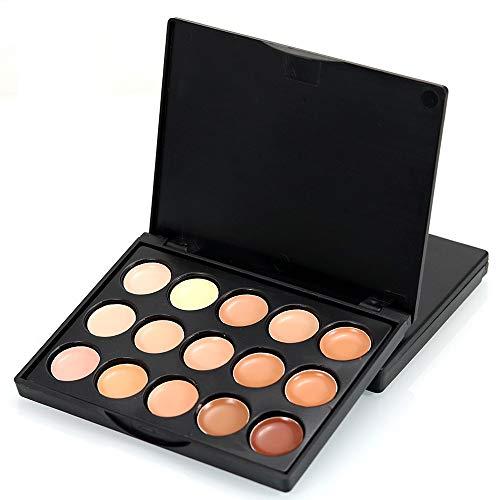 Startview - Startview Mini 15 Colors Face Concealer Camouflage Cream Contour Palette (B)
