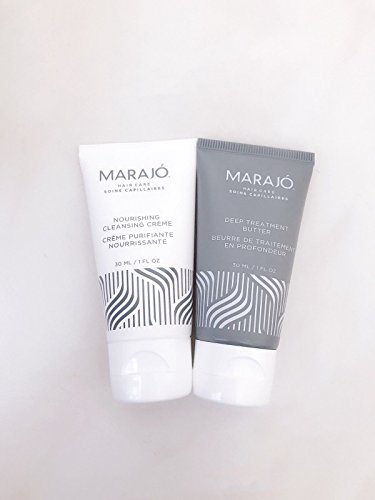 Marajo - MARAJO Nourishing Cleansing Creme & Deep Treatment Butter 1 oz Each, Travel Size