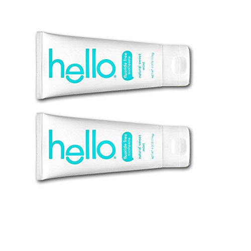 Hello - Oral Care hello Toothpaste,all Natural 2 Pack 4.2 oz each (Sweet Mint)
