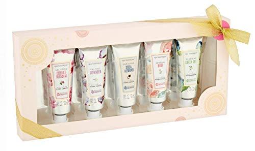 spa luxetique - Spa Luxetique Hand Cream Bath Set, 1 fl oz, 5 pieces