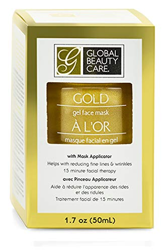 Global Beauty Care - Global Beauty Care Gold Gel Face Mask, 1.7 oz