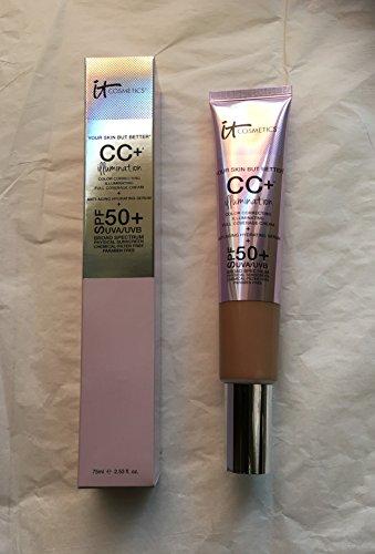 It Cosmetics - It Cosmetics CC+Illumination SPF 50+ TAN Supersized 2.53 fl. oz.