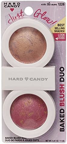 Brand: Hard Candy - Hard Candy Baked Blush Duo, 1226 Over the Moon