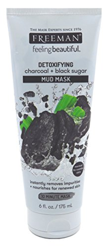 Freeman - Charcoal & Black Sugar Mud Mask