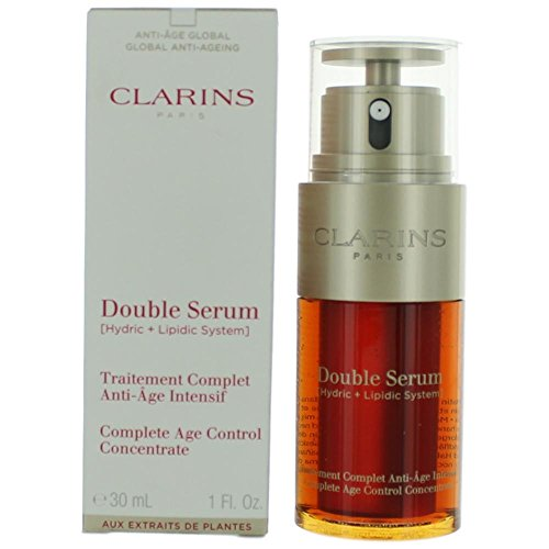 Clarins - Clarins Double Serum (Hydric + Lipidic System) Complete Age Control Concentrate 30ml/1oz