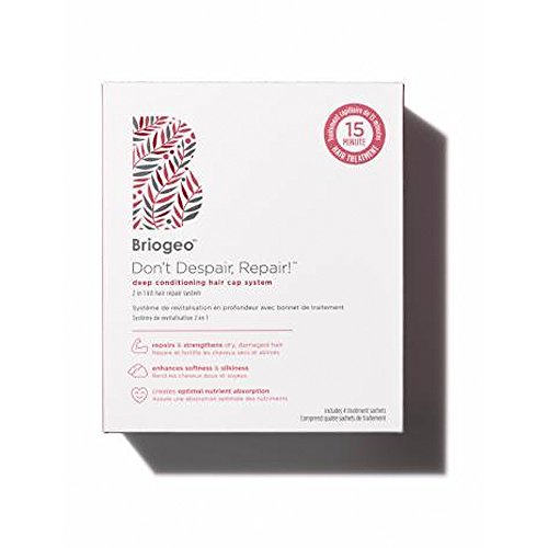 Briogeo - Briogeo - Don't Despair, Repair! Deep Conditioning Hair Cap System, Comprehensive System Designed to Nourish and Moisturize Dry, Damaged, Chemically Treated or Lifeless Hair
