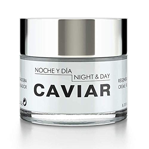 Noche Y Dia - Noche Y Dia Night & Day Caviar Regenerating Cream for Face, with Sturgeon Caviar, Aloe Barbadensis & Vitamin E, 2.4 fl oz.