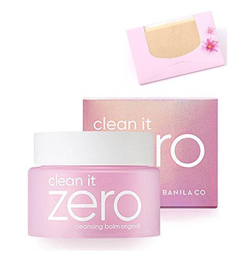 Banila Co - Clean it Zero Cleansing Balm + SoltreeBundle Natural Hemp Paper