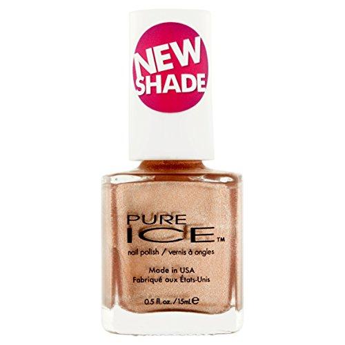Pure Ice - Pure Ice Nail Polish Goldie Locks #1389 (Rose/Gold) 0.5 Fl Oz