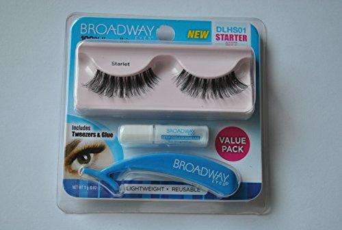 Broadway - Broadway Eyes False Lashes Starter Kit (DLHS01) - Starlet