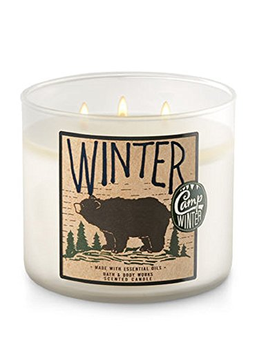 Bath & Body Works - 3-Wick Candle, Winter