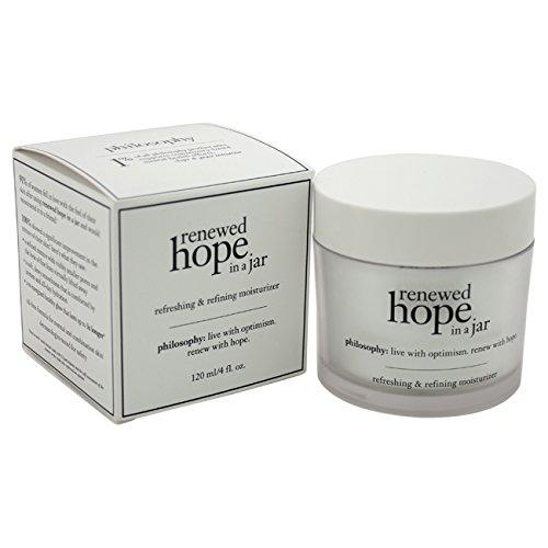 philosophy - Renewed Hope in a Jar Refreshing & Refining Moisturizer by Philosophy for Women - 4 oz Moisturizer