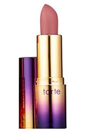 Tarte - Tarte Rainforest of the Sea Drench Lip Splash Lipstick in Beach Bum Dark Nude (0.035 oz) mini