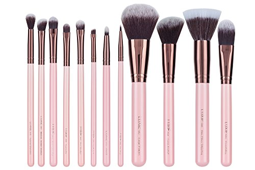 Luxie - Luxie Rose Gold 12 Piece Makeup Brush Set