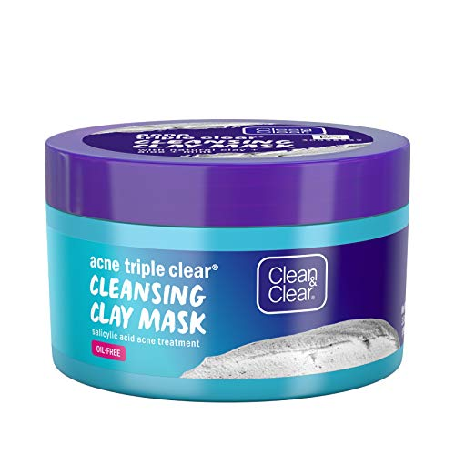 Clean & Clear - Triple Clear Cleansing Clay Acne Face Mask