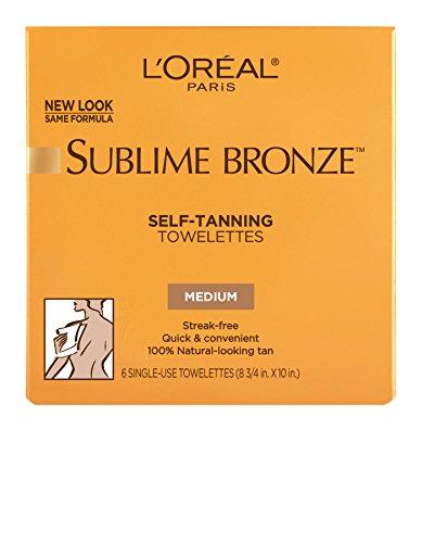 l'Oreal Paris L'Oréal Paris Sublime Bronze Self-Tanning Towelettes, 6 ct.