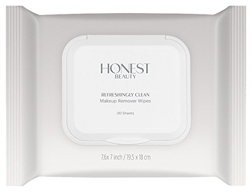 Honest Beauty - Honest Beauty Refreshingly Clean Makeup Remover Wipes, 30 Count