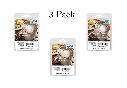 Mainstay - Hazelnut Cream Wax Cubes Mainstays Pack of 3