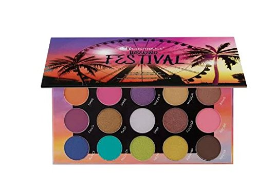 BH Cosmetics - 20 Color Eyeshadow Palette, Weekend Festival