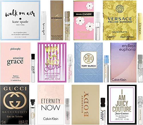 Perfume - Designer Fragrance Samples for Women - Sampler Lot x 12 Perfume Vials