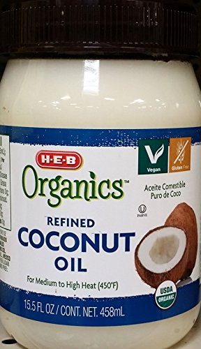 HEB Organics - Refined Coconut Oil