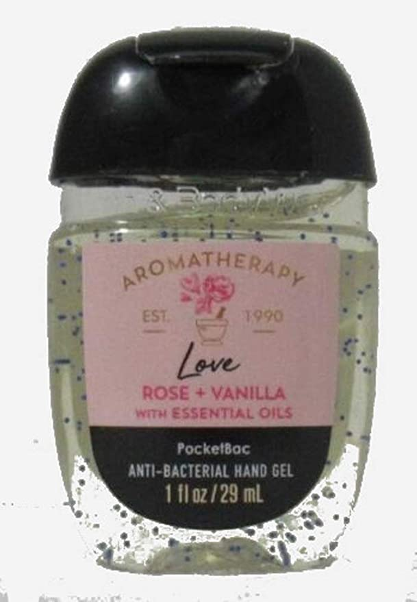 Bath and Body Works Bath and Body Works Pocketbac Hand Sanitizer - Aromatherapy Love - Rose + Vanilla (Packaging Varies)