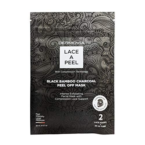 Dermovia - Lace a Peel, Black Bamboo Charcoal Peel Off Mask