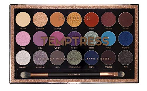 Profusion Cosmetics - 21 Shade Eyeshadow Palette, Temptress