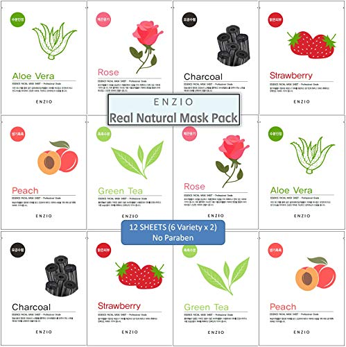 Enzio - Korean Collagen Essence Facial Mask Sheet