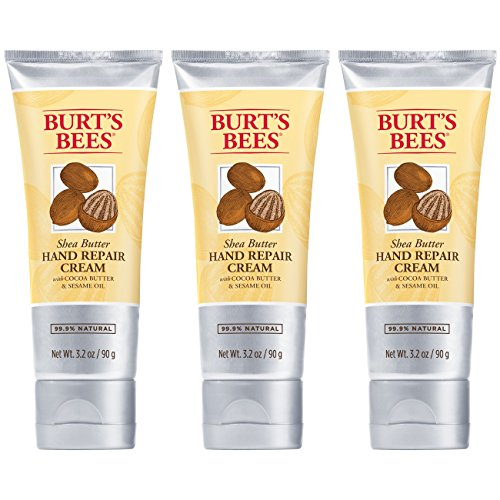 Burts Bees - Burt's Bees Shea Butter Hand Repair Cream - 3.2 Ounce Tube (Pack of 3)