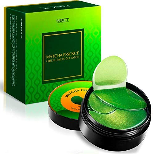 NBCT - Under Eye Patches, Matcha Essence Collagen Anti-Wrinkle Pads