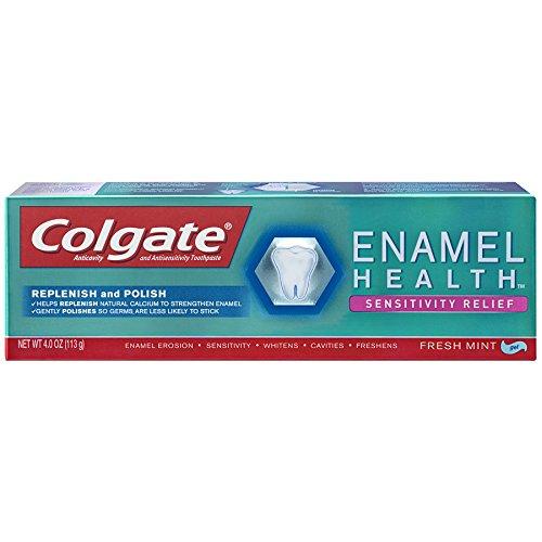 Colgate - Colgate Enamel Health Sensitivity Relief Toothpaste, Fresh Mint 4 oz (Pack of 6)
