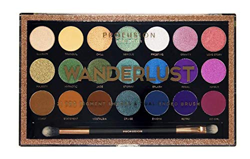 Profusion Cosmetics - 21 Shade Wanderlust Palette