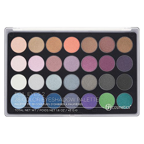 BH Cosmetics - Eyeshadow Palette, 28 Color, Foil Eyes 2