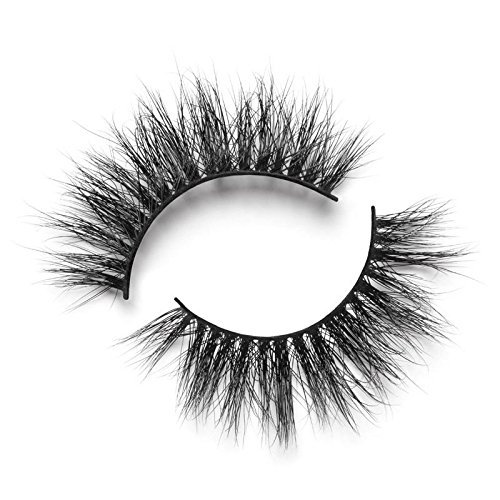 Lilly Lashes - Lilly Lashes 3D Mink Hollywood | False Eyelashes | Dramatic Look and Feel | Reusable | Non-Magnetic | 100% Handmade & Cruelty-Free
