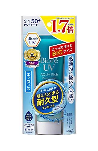 Bioré Biore Sarasara UV Aqua Rich Watery Essence Sunscreen SPF50+ PA+++ 85g (Essence)