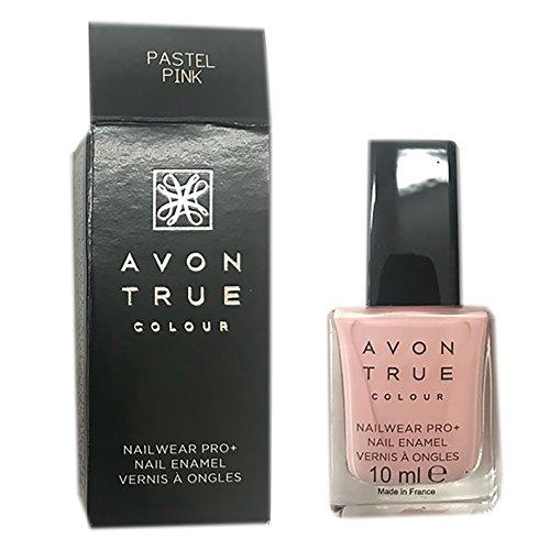 Avon - True Color Pro+ Nail Enamel, Color Pastel Pink