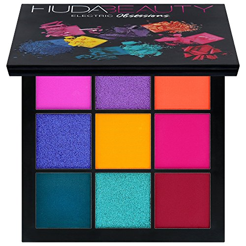 H - Huda Beauty Obsessions Eyeshadow Palette (Electric)